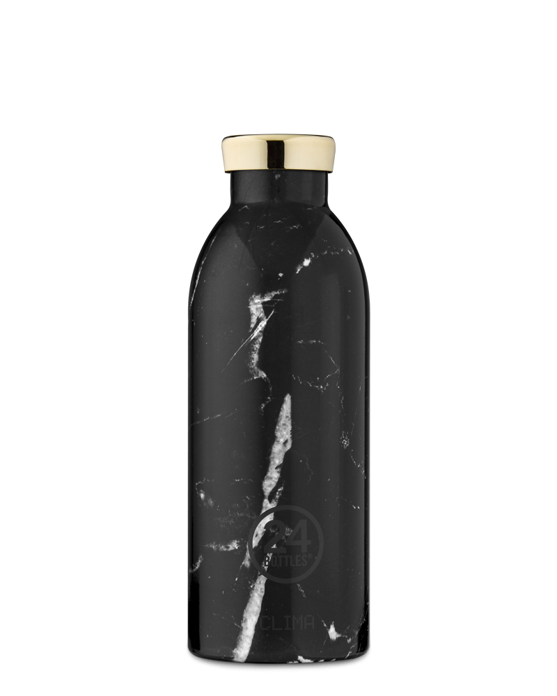 24 BOTTLES - Thermo CLIMA 500ml MARBLE BLACK