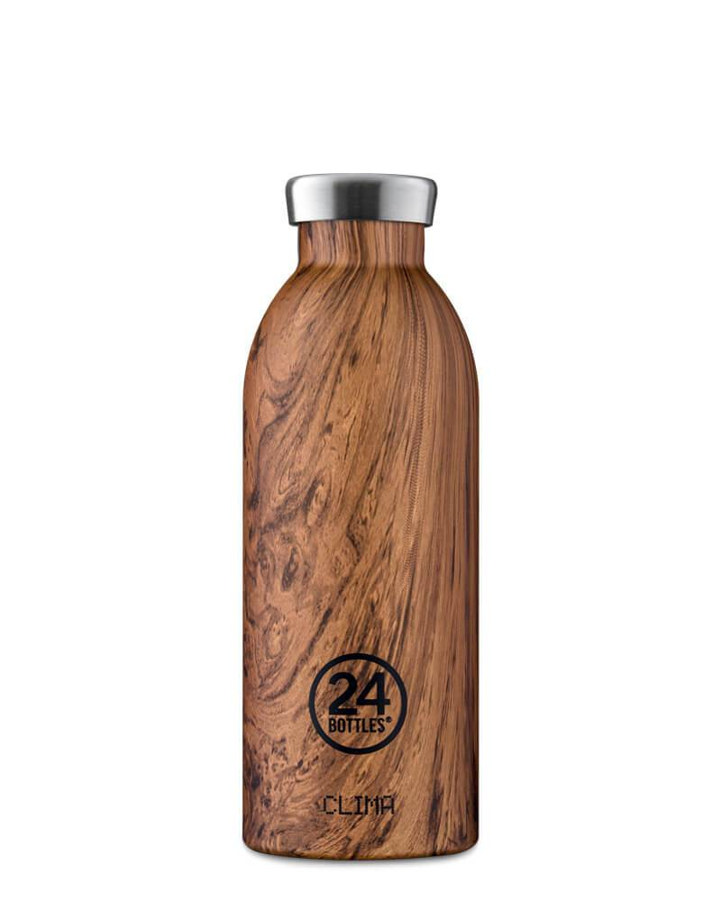 24 BOTTLES - Thermo CLIMA 500ml WOOD SEQUOIA