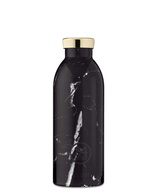 24 BOTTLES - Thermo CLIMA 500 ml MARBLE BLACK