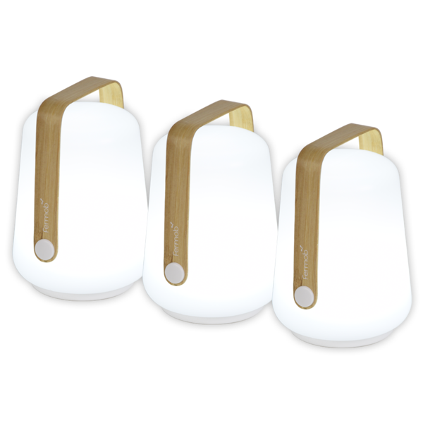 FERMOB - Lot de 3 Lampes portables H12 cm BALAD (copie)